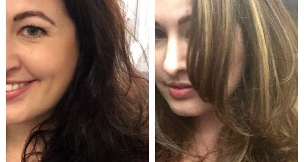 brunette to blonde patricia lynn laas hair studio