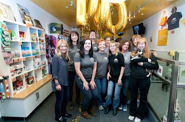 LA Love and Leashes 1,000th Adoption