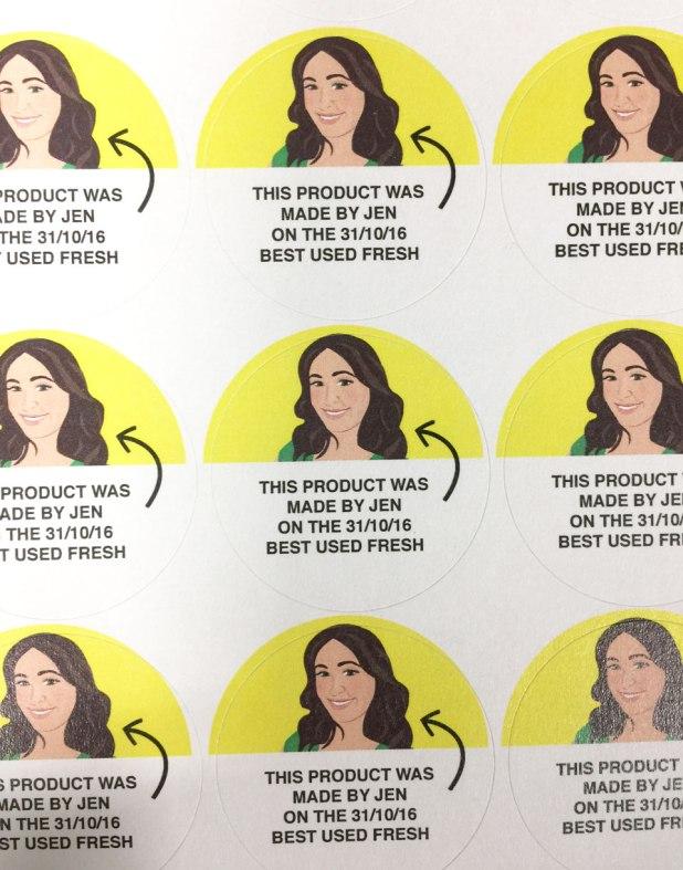 LUSH Made by Jen Stickers
