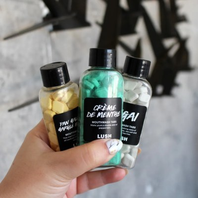 Lush Mouthwash Tabs Review