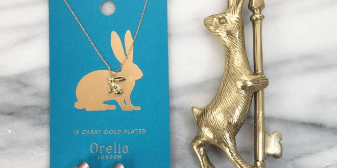 Anthropologie Bunny Bottle Opener and Topshop Bunny Necklace