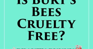Is Burts Bees Cruelty Free