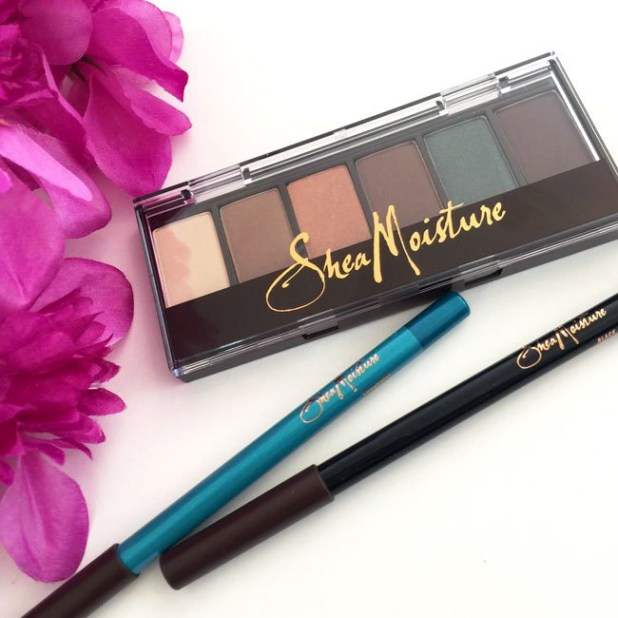 SheaMoisture Eyeshadow and Eyeliner Review