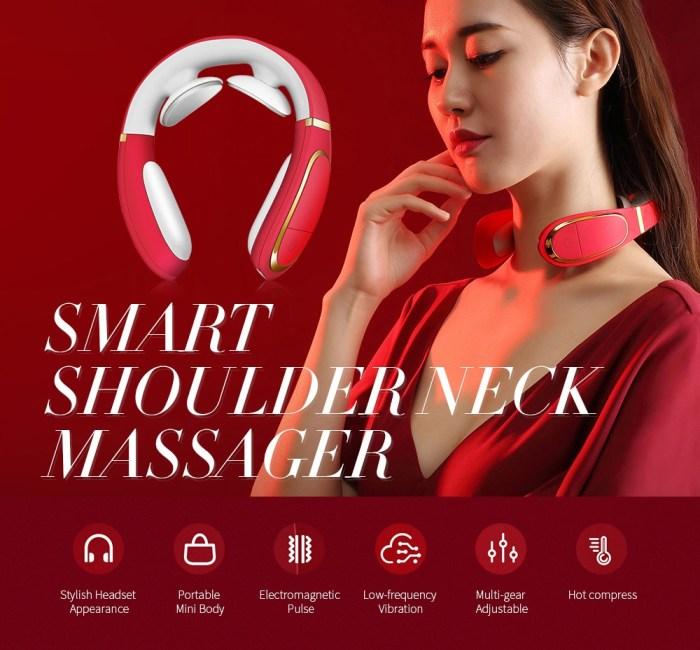 smart shoulder and neck massager