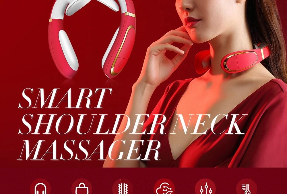 Smart Neck Massager,Intelligent Portable Massaging Device