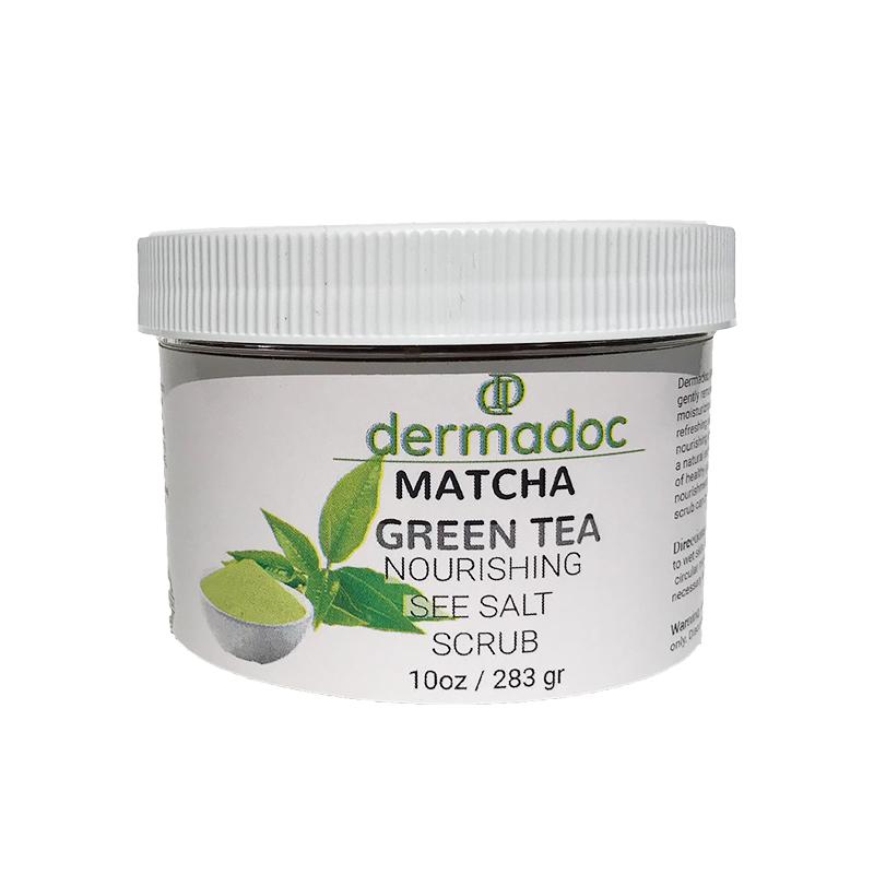 BODY SCRUB, MATCHA GREEN TEA   10 oz