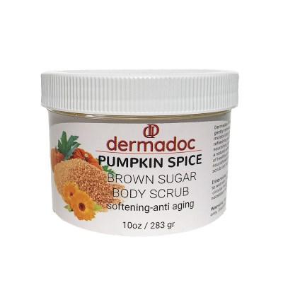 pumpkin spice lip scrub for woman