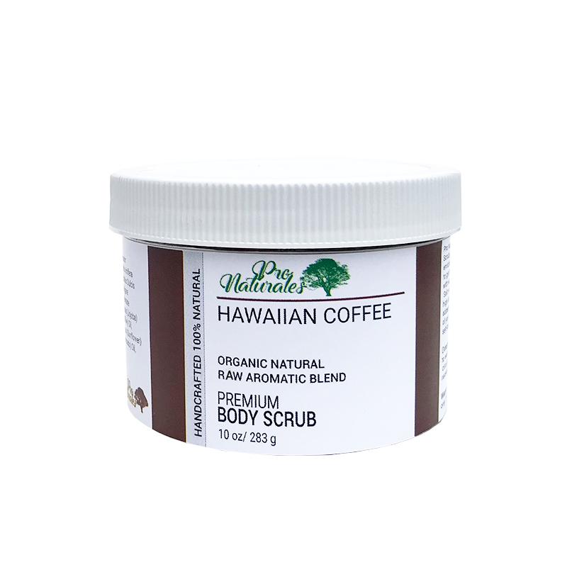 BODY SCRUB, HAWAIIAN COFFEE 10 oz