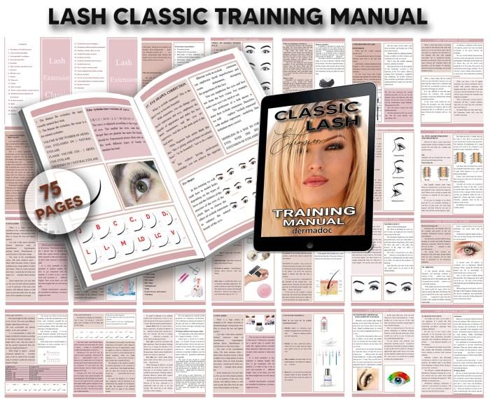 online lash extension course uk and australia