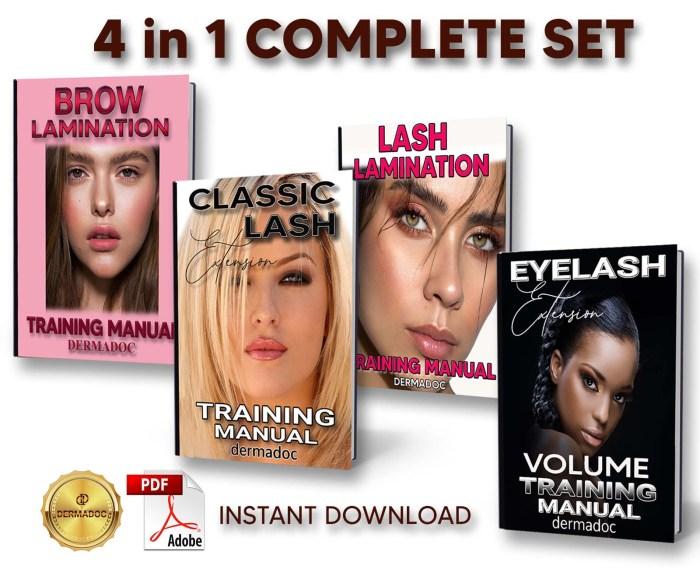 best online Complete set training manuals