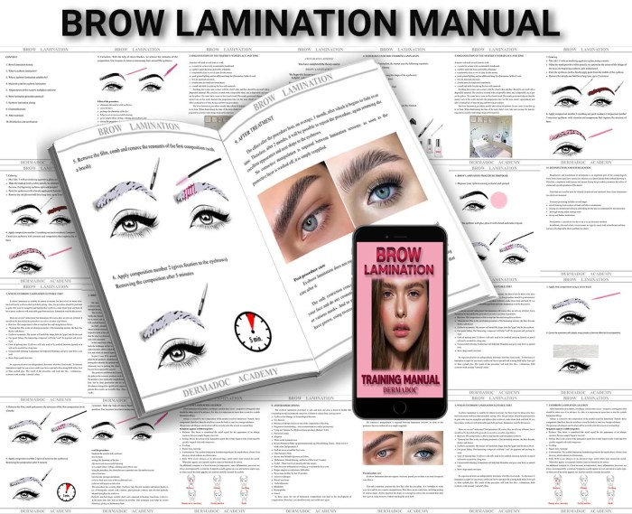 best online brow lamination course uk and australia