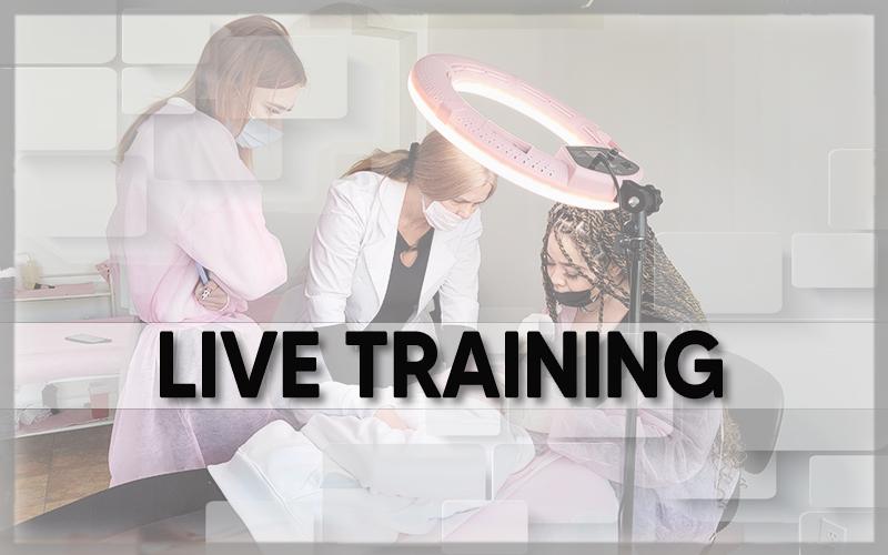 Hyaluron pen and plasma fibroblast training, scalpa