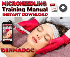USA microneedling derma pen training manual for students