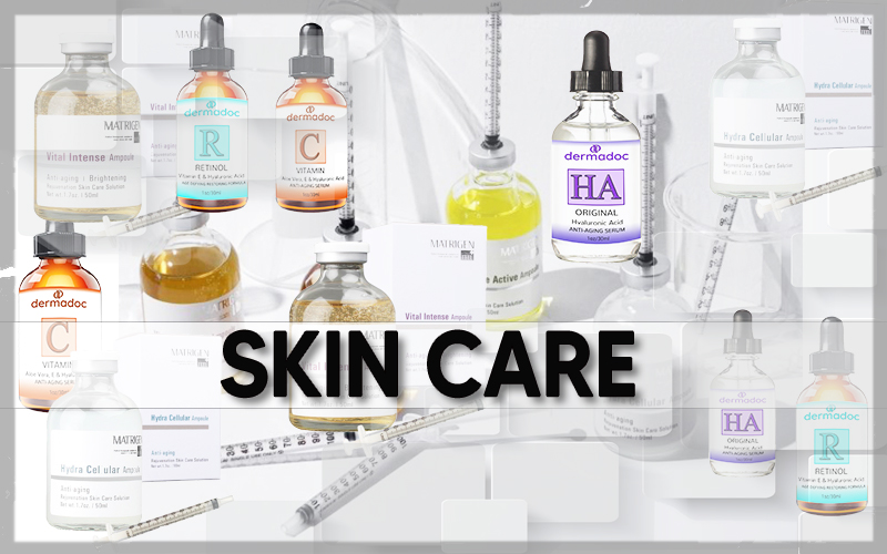 Dermadoc and Matrigen skin care product for professionals
