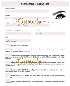 Best USA Microblading client Aftercare Instructions