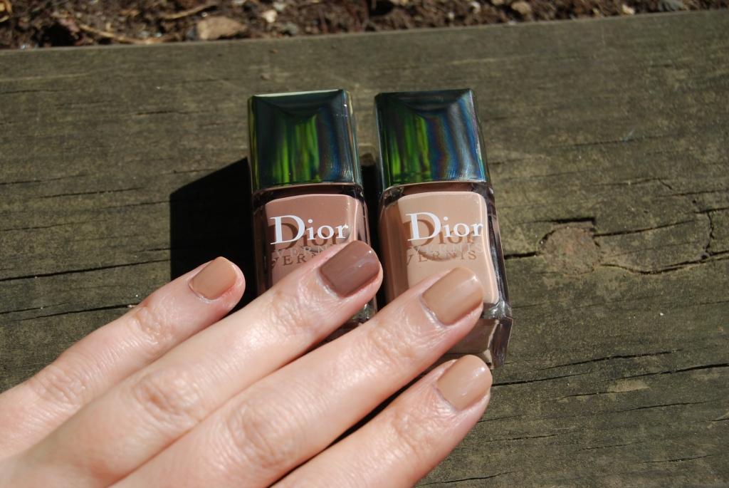 Le vernis Nude selon Dior [Trench & Grège]