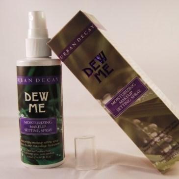 Urban Decay Dew me, brume fixatrice de maquillage