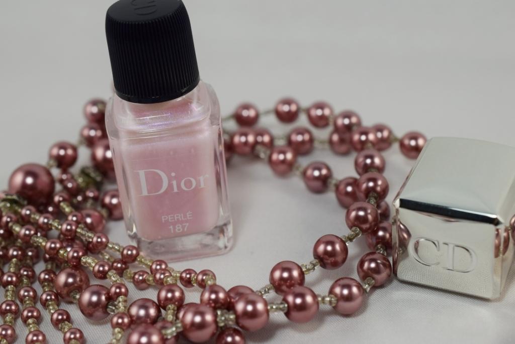 Perlé, le top coat à effet de Dior