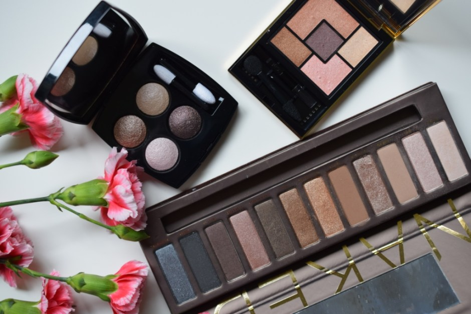 20140922 Neutral eyeshadow palettes 1