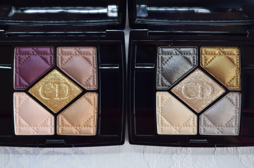 Dior Golden Shock palettes 12