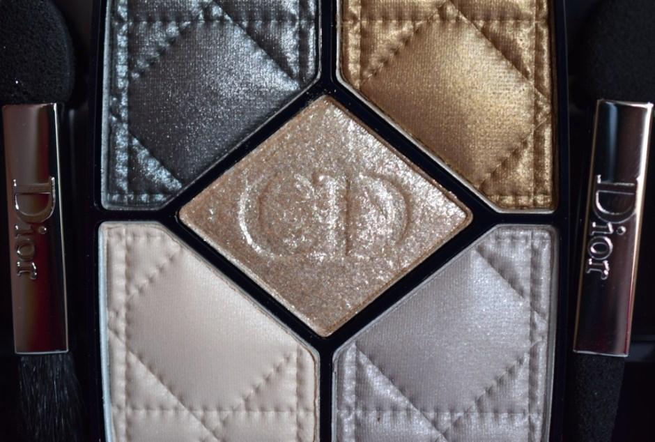 Dior Golden Shock palettes 9 Golden Reflections