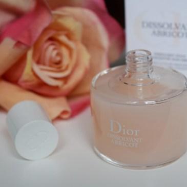 Dior – Dissolvant abricot