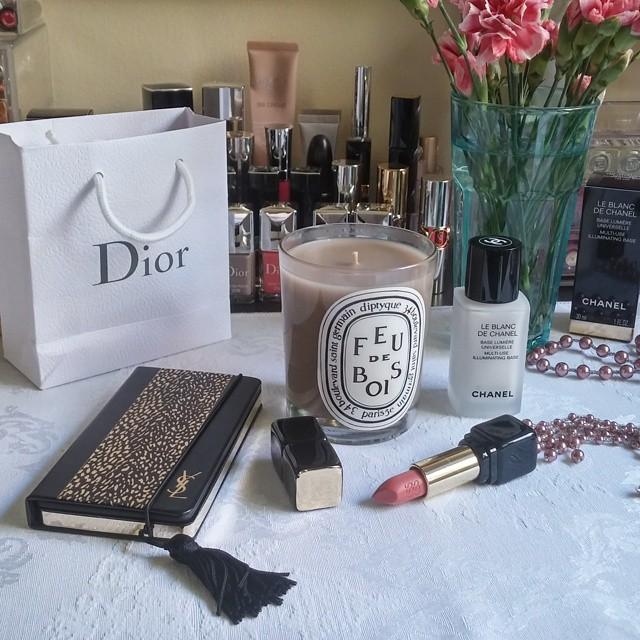 vanity Dior Diptyque