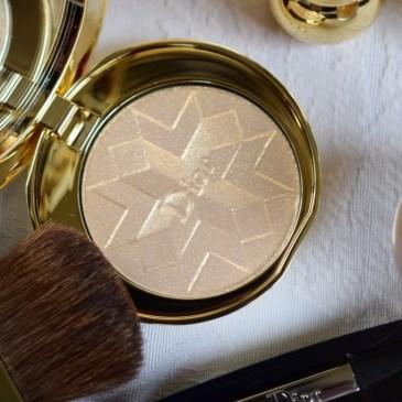 Dior Golden Shock – Poudre compacte lumière d'or [Noël 2014]