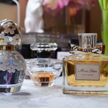 Le défi du lundi: les parfums