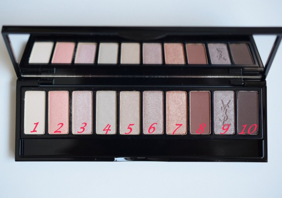 YSL palette Couture Variation 7
