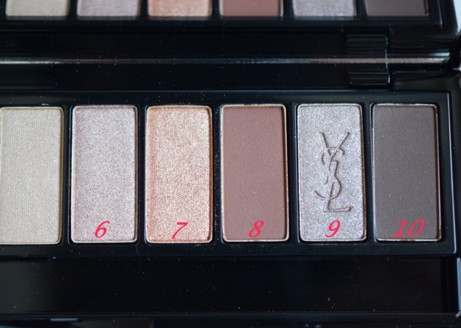 YSL palette Couture variation 9