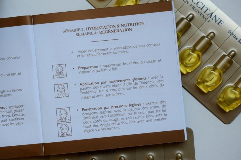 L Occitane programme divin Immortelle 17