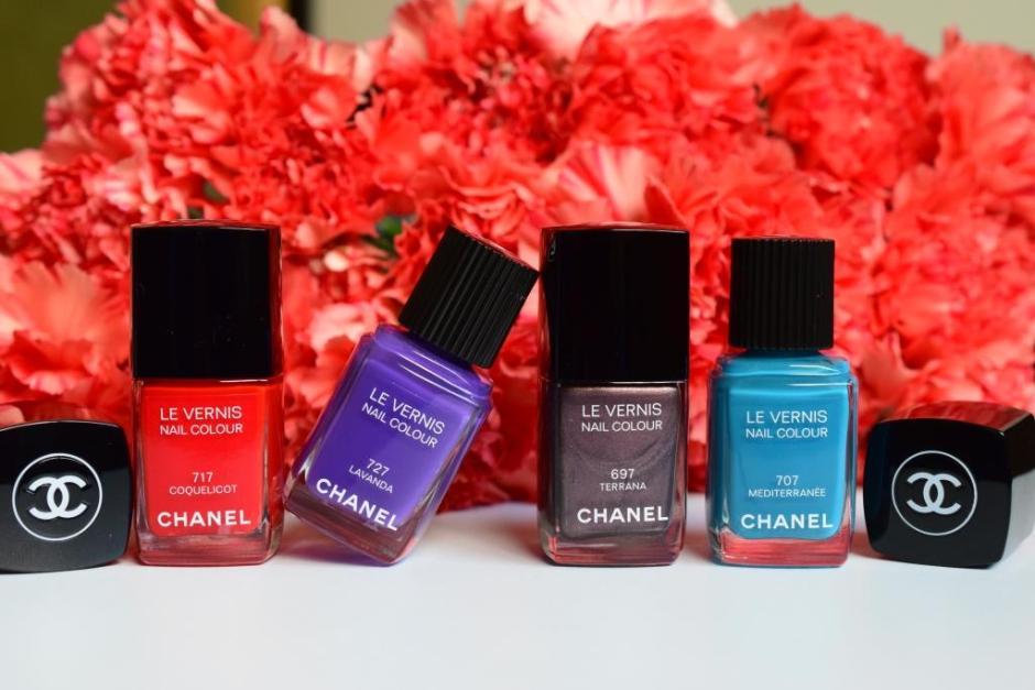 Chanel Méditerranée collection été 2015 3 vernis