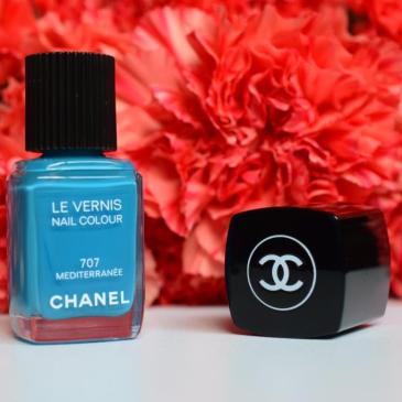 Chanel vernis Méditerranée