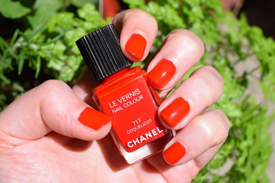Chanel vernis coquelicot 3 swatch