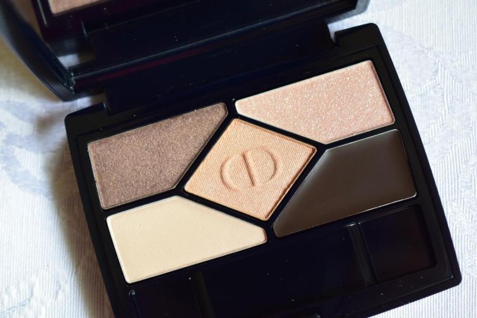 Dior palette 708 Amber Design 3