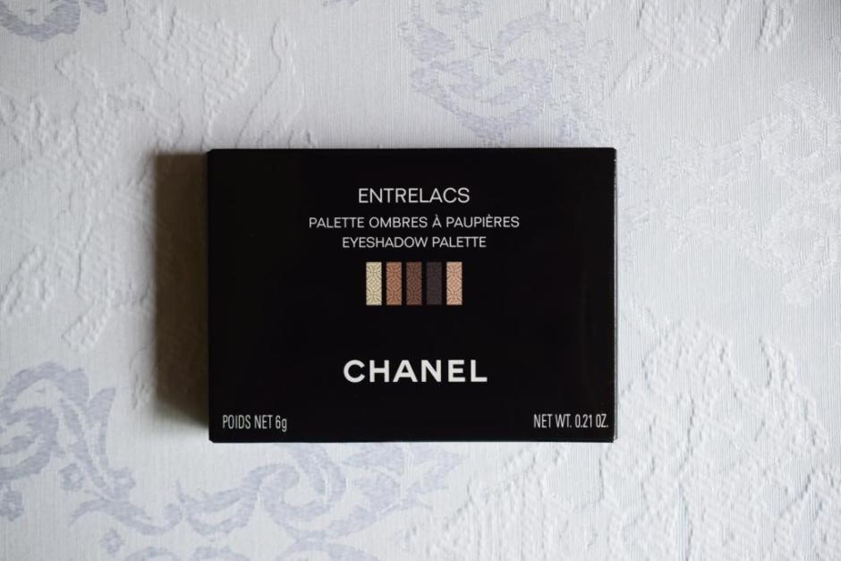 Chanel Les Automnales palette Entrelacs 2