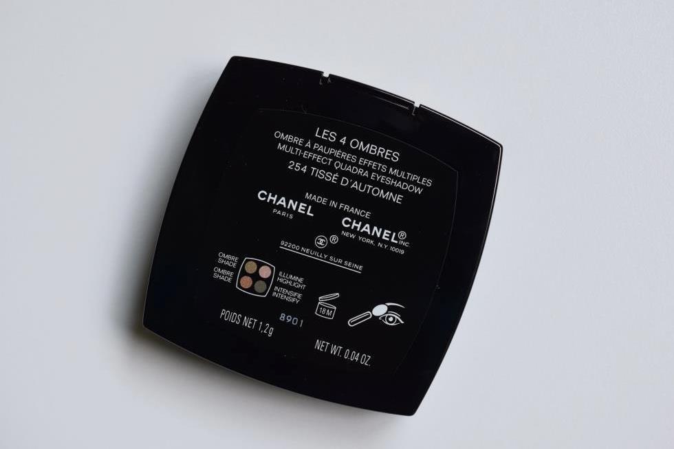 Chanel Tisse automne palette 2