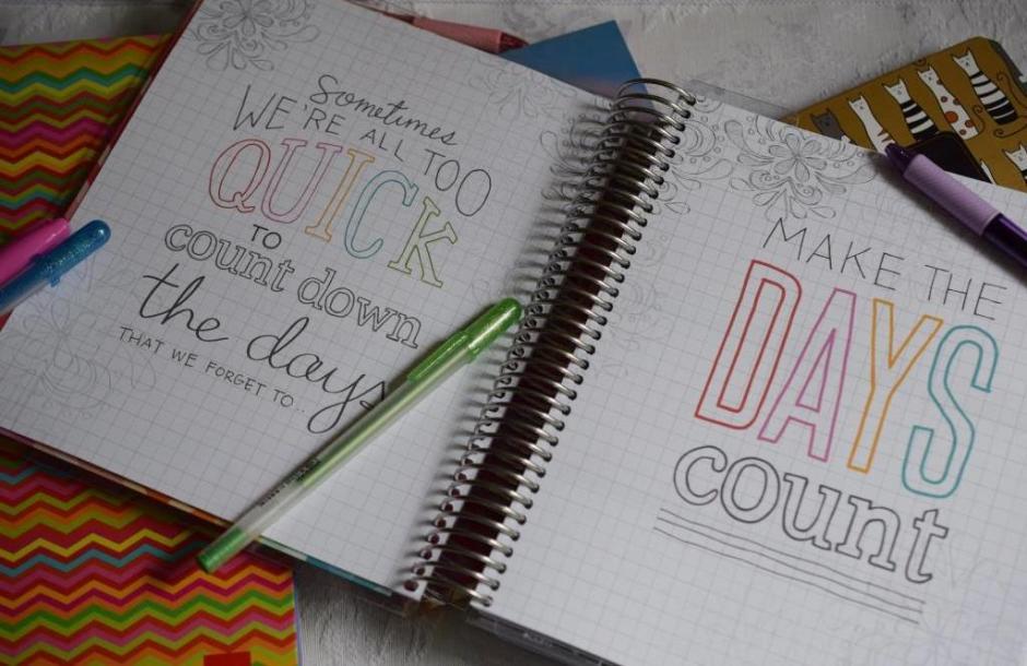 Life planner Erin Condren 7