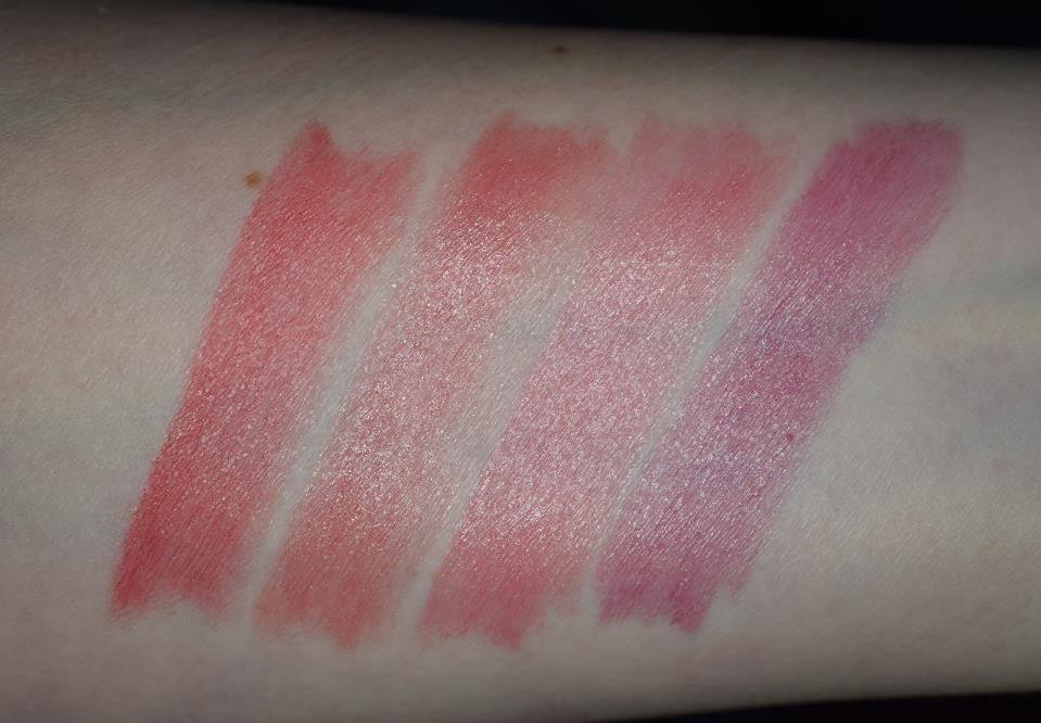 Dior Addict Lipsticks 8 swatches