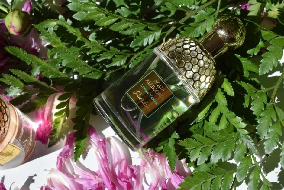 Mes parfums de l'été Guerlain Limon verde