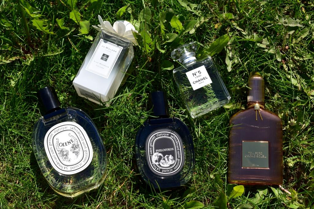 Mes parfums du moment (printemps-été 2017)