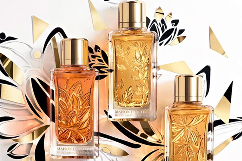 Lancome parfums grands crus