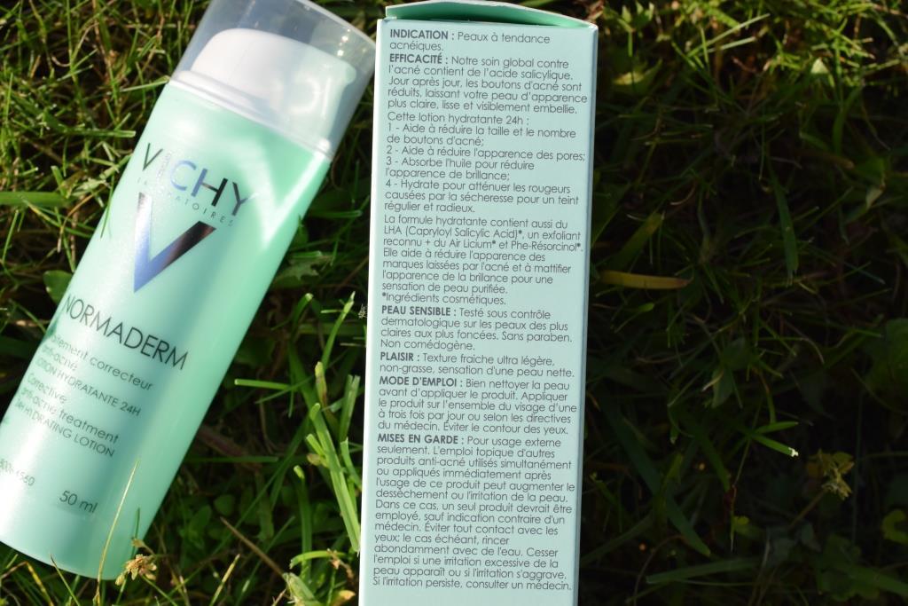 Vichy Normaderm traitement correcteur anti acne