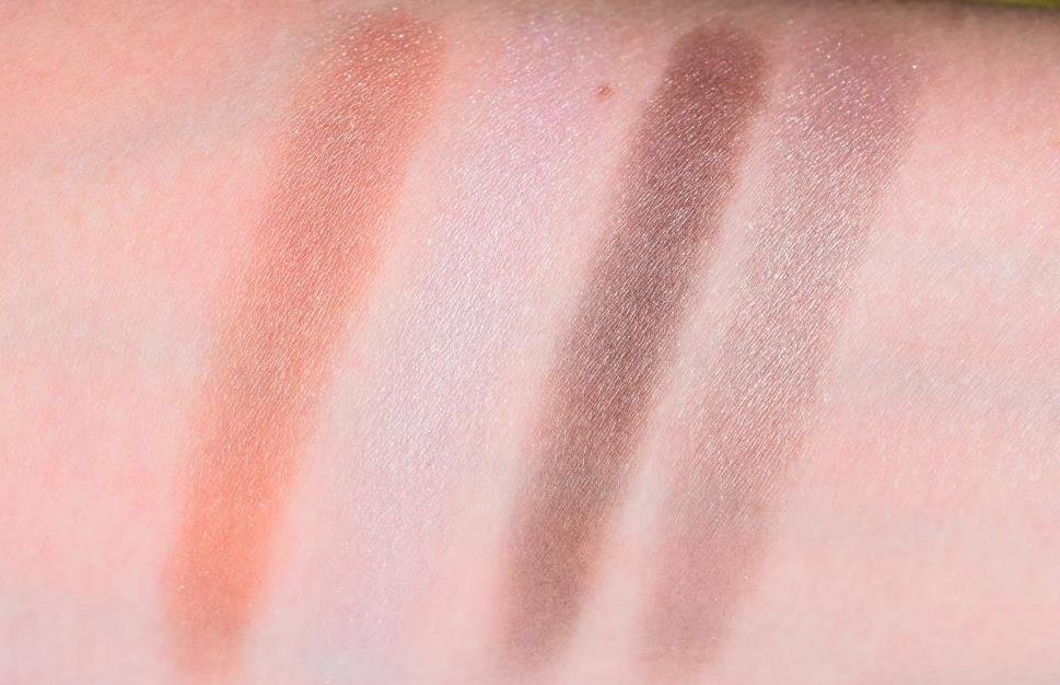 CHANEL City Lights palette Swatch