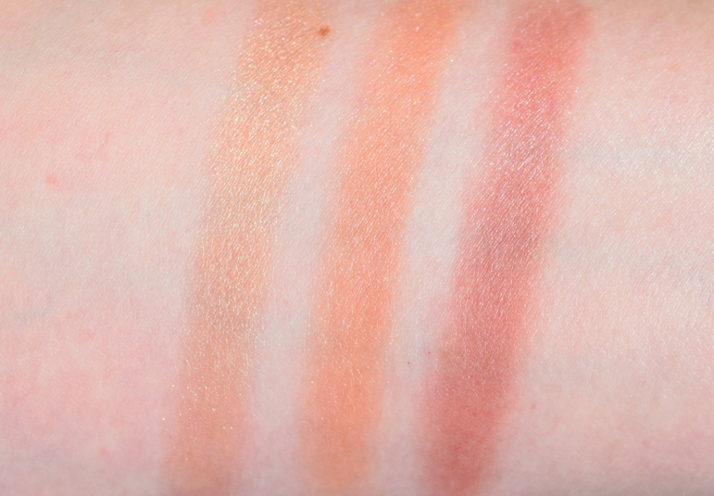 Nars Coucher de Soleil Cheek Palette swatch