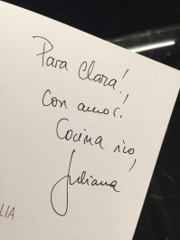 Juliana Lopez May - Juliana en Italia