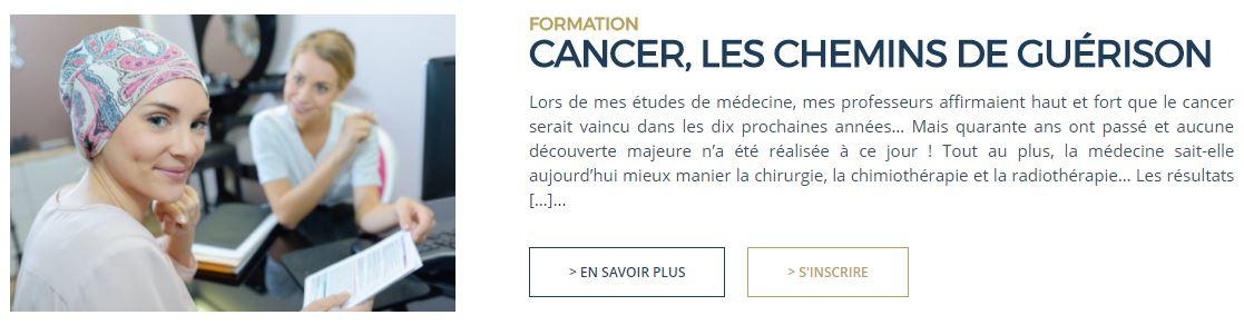 Formation - Dr Luc Bodin - Guérison de cancer