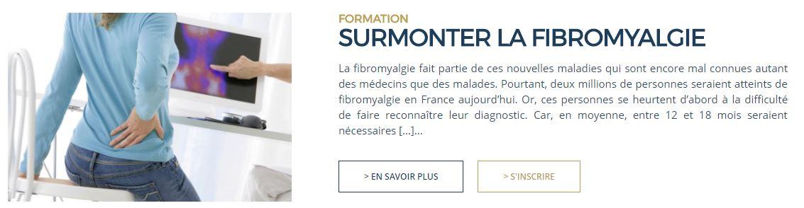 Formation - Dr Luc Bodin - Fibromyalgie