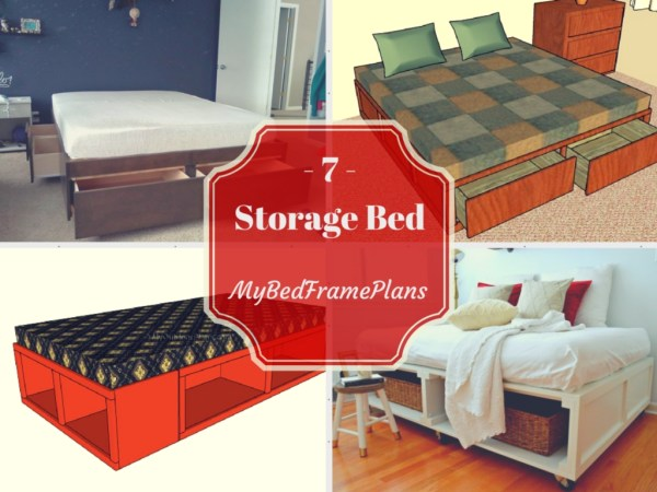 Free Storage Bed Frame Plans
